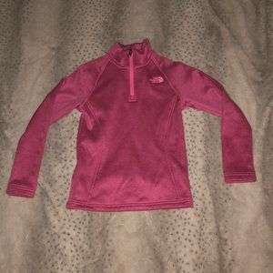 NORTH FACE PULLOVER ZIP!